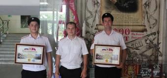 Казаков «Каширинского куреня» наградил атаман Кубанского войска.