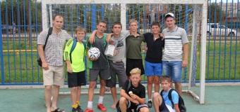 Выступление на турнире за Кубок губернатора по футболу команды «Есаул».
