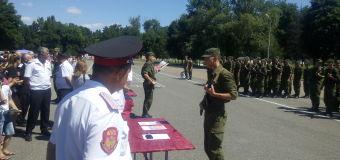 Присяга в 131-й отдельной горно-стрелковой казачьей бригаде г. Майкопа.