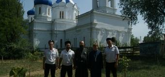 Престольный праздник в храме Преподобного Серафима Саровского села Труновского.