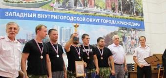 Каширинские казаки в гостях у Кубанского казачьего клуба.