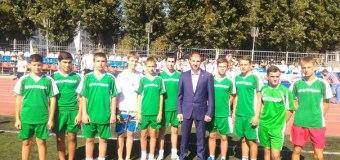 """В субботу 29 августа в КубГУ были проведены соревнования по мини-футболу под проектом """"Спорт детям""""."""