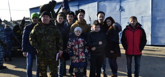 Посещение казаками отряда полиции специального назначения.