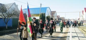 В честь Дня защитника Отечества в хуторе Ленина был отслужен молебен.