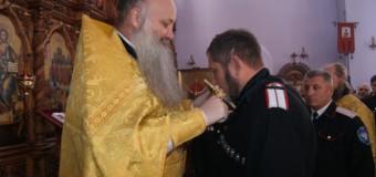 Войсковой духовник благословил атамана Котко.