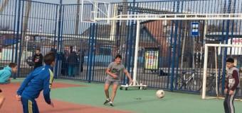 Турнир по мини-футболу, посвященный Дню освобождения Краснодара.