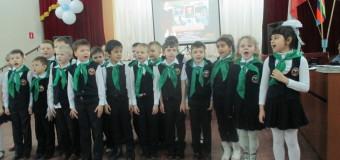 Детские выступления, посвященные Дню защитников Отечества.
