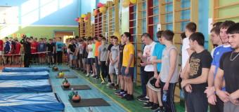 Команда «Есаул» заняла второе место на Чемпионате Карасунского округа по гиревому спорту среди допризывной молодежи.