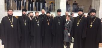 Отец Спиридон выступил в Москве на конференции по вопросам взаимодействия казачества и Церкви.