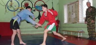 В хуторе Ленина прошли соревнования по борьбе САМБО, посвященные казакам-добровольцам, павшим в локальных конфликтах.