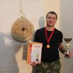 метание ножей победитель Черноиванов Александр