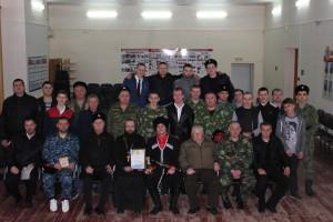 Каширинский курень признан лучшим хуторским казачьим обществом города Краснодара в 2016 году