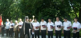 В хуторе Ленина состоялось торжественное чествование дня основания хуторского казачьего общества «Курень Каширинский».