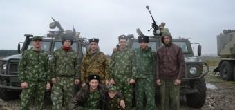 Каширинские казаки на военно-полевых сборах казачьего полка имени Захария Чепеги 22-24 сентября 2016 года