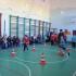 Первоклассники каширинцы и старокорсунцы на казачьих спортивных забавах.