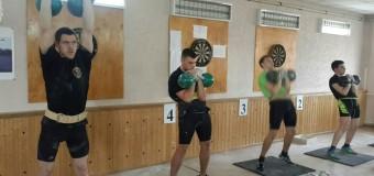 Каширинцы на Чемпионате города Краснодара по гиревому двоеборью.
