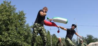 Сборная казаков Екатеринодарского районного казачьего общества стала лучшей в Екатеринодарском отделе.