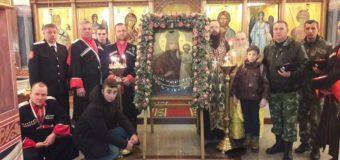 В Свято-Георгиевский храм хутора Ленина из Киева прибыла чудотворная икона Пресвятой Богородицы «Призри на смирение»